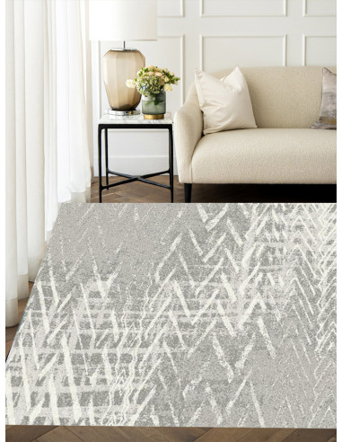 Светло сив килим Softness-1