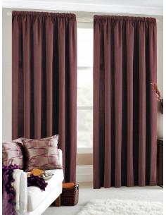 Готова завеса блекаут в лилав цвят 2.50x2.50м.-1