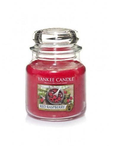 Ароматна свещ с малина Yankee Candle Red Raspberry-1