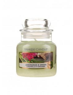 Ароматна свещ Yankee Candle Lemongrass and Ginger-1