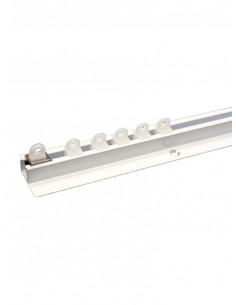 Единичен алуминиев корниз с перо 3800 от 4 до 6м.-1