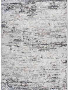 Светло сив килим с преливащо кремаво и кафяво 160x230см.-1