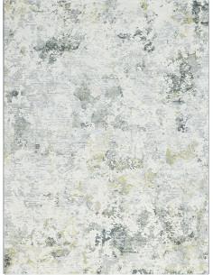 Килим в сиво, зелено и тюркоазено 160x230см.-1