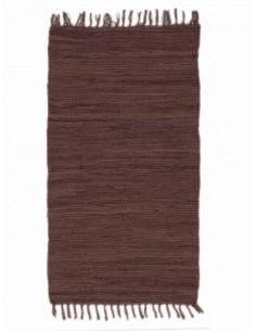 Памучно килимче в кафяв цвят 60x110см.-1