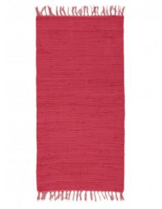 Памучно червено килимче 60x110см.-1