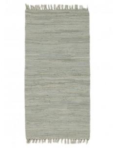 Памучно сиво килимче 60x110см.-1