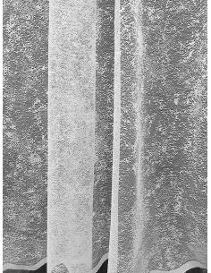 Готово мрежесто тънко перде в бял цвят-1