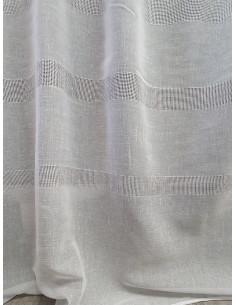 Плат за тънки пердета в кремав цвят-1