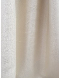 Плат за плътна завеса от лен и полиестер в натурален цвят-1