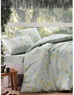 Двоен спален комплект TAC Bamboo Green-1
