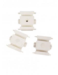 Пластмасова снадка за двуканални PVC релси-1