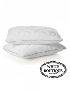 Бебешка възглавница 35/45 White Boutigue Baby Soft Feel-1