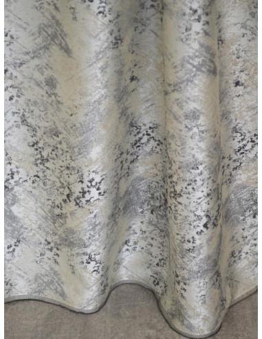 Меланжирана завеса в кафяви и сиви цветове-1