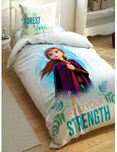 Детски спален комплект TAC Saten Frozen-1