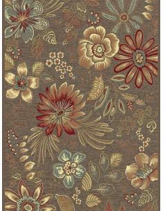 Килим с десен на цветя-1