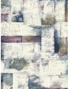 Пъстър килим с цветни правоъгълници в акварелни нюанси-4